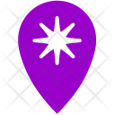 Star Geo Point Icon