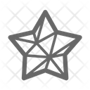 Star Geometric Icon