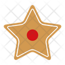 Star gingerbread Icon