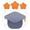 Star Graduation Icon