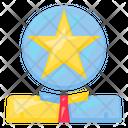 Star Head Human Icon