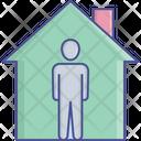 Stay Home Stay Safe Coronavirus Safety Carona Icon