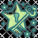 Star Key Icon