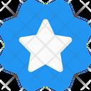 Star Label Star Badge Star Banner Icon