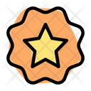 Star Label Icon