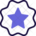 Star Label Icon