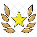 Star Laurel Icon