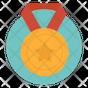 Star Medal Award Gold Medal Icon