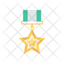 Star Rank Medal Icon