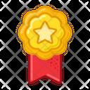 Star Medal Prize Icon