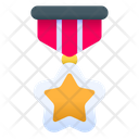 Star Medal Star Pendant Badge Icon