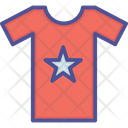 Star On T Shirt Icon