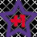 Star Plus One Icon