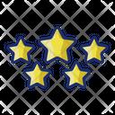 Star Rating Award Ratings Icon