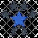 Star Ribbon Icon