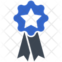 Star Ribbon Icon