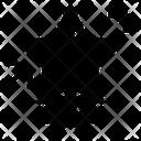 Star Ribbon Military Star Rating Icon