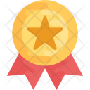 Badge Award Ribbon Icon
