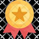 Star Ribbon badge Icon