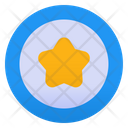 Star Rounded Star Favorite Icon