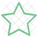 Star Five Pointed Icon