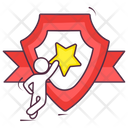 Star Shield Icon