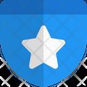 Star Shield Award Shield Icon