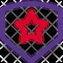 Star Shield Icon