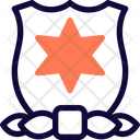 David Star Shield Medal Of Honor Icon
