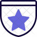 Star Medal Of Guard Icon