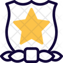 Star Shield Medal Of Honor Icon