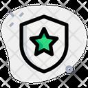 Star Shield Shield Medal Icon