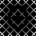 Star Shield Army Shield Military Shield Icon
