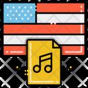 Star Spangled Banner Anthem National Anthem American National Anthem Icon