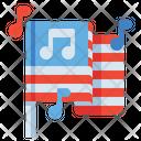 Star Spangled Banner Anthem Icon