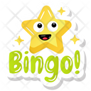 Star Bingo Star Star Sticker Icon