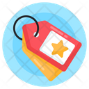 Star Tags Loyalty Tags Favourite Tags Icon