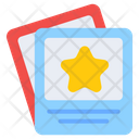 Star Tickets Coupons Cards Icon