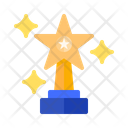 Star Trophy Trophy Award Icon