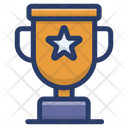 Prize Award Star Trophy Icon