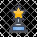 Star Trophy Star Trophy Icon