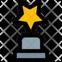 Star Trophy Trophy Award Icon