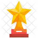 Star Trophy Trophy Cup Champion Trophy Icon