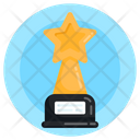 Prize Star Trophy Championship Trophy Icon