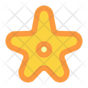 Starfish Summer Vacation Icon