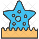 Starfish Sea Aquatic Icon