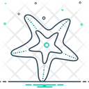 Starfish Echinoder Star Fish Icon