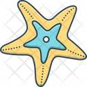 Starfish Echinoder Star Fish Icon
