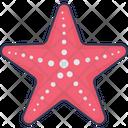 Starfish Animal Aquarium Icon