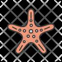 Starfish Animal Wildlife Icon